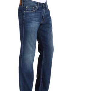 AG Jeans 'Protege' Straight Leg Distressed Jeans